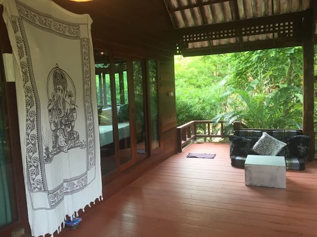 Stunning House Sea view 70m from Hin Kong beach