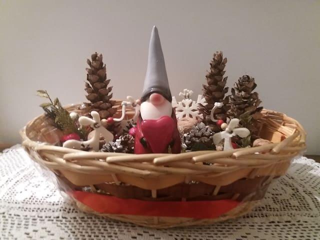 Elemento decorativo natalizio