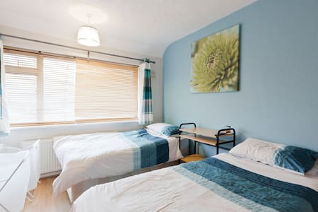20 mins from Central London+Heathrow Airport - Greenford - Casa