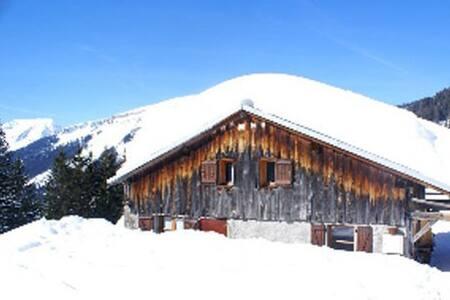 Charmant chalet d'alpage rénové spacieux, Avoriaz - Chalet