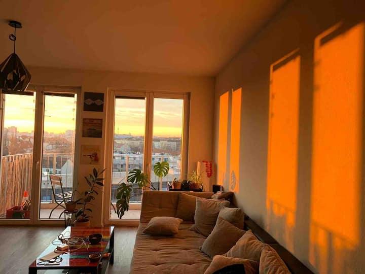 Loft–Artige Wohnung mit Blick über Berlin
