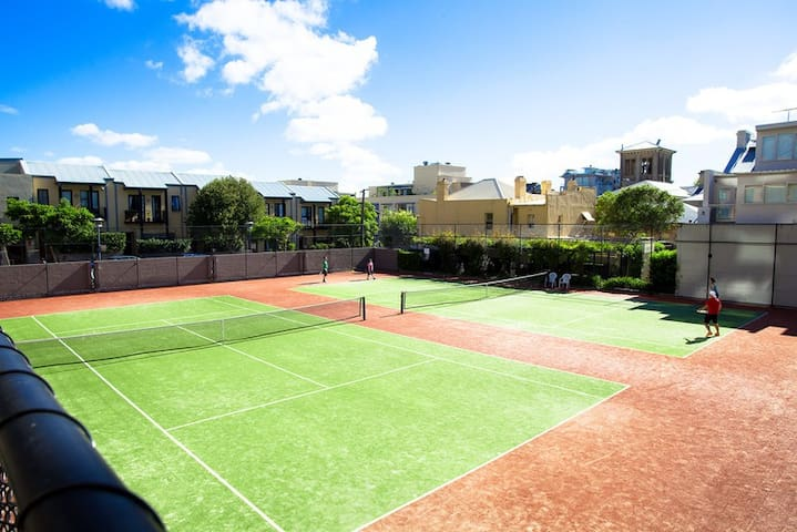 If you feel sporty enough during your stay, the Tennis Court is available with booking it during your reservation.