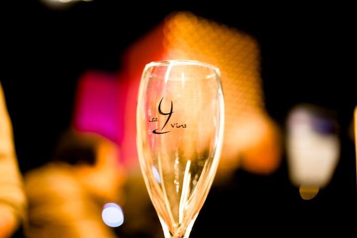 """Gîte de vigneron """"Les 4 Vins"""" - Neufchâteau - Bed & Breakfast"""