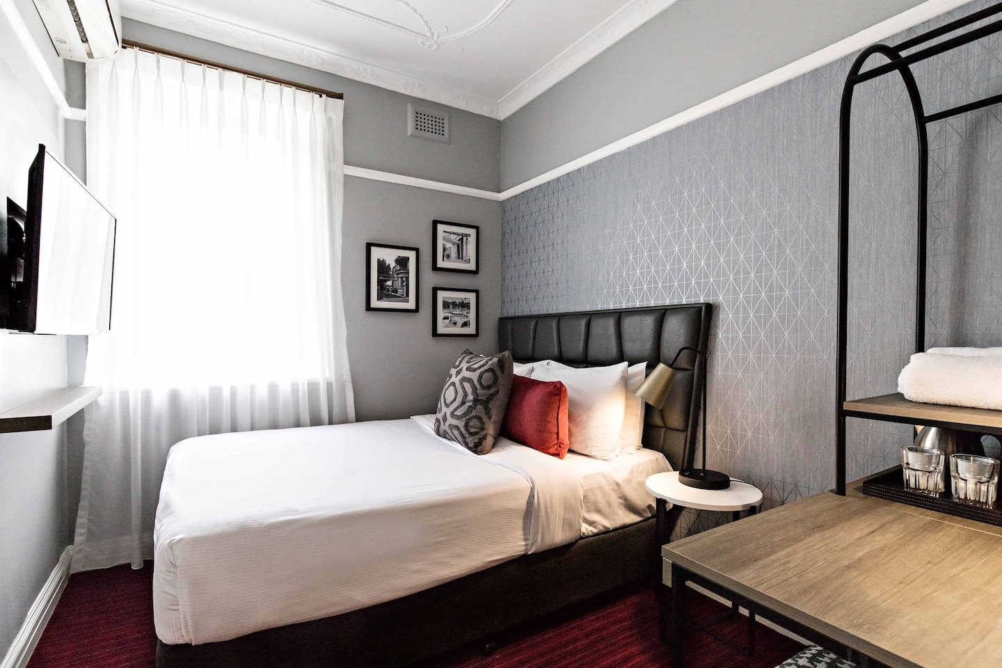 The Single Room is a comfortable option for one person.