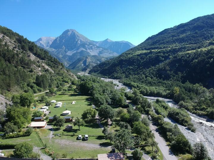 Chalet des Voyageurs, Camping Mandala