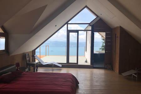 Ilopango lake house suite deluxe