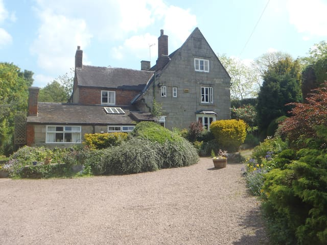 4 Poster Bedrooms at Manor House Farm Denstone