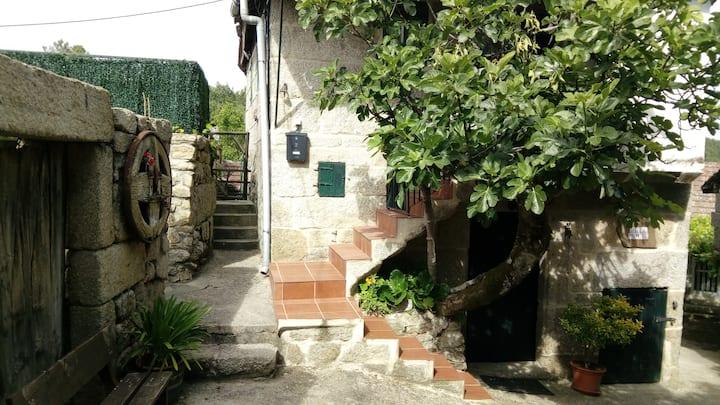 Casa rural entera en Galicia A Forneira
