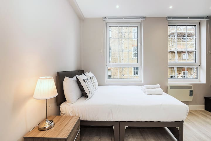 Modern Room In A Spacious Flat Near Aldgate St.
