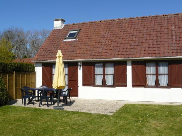 maison de pêcheur à la côte Belge