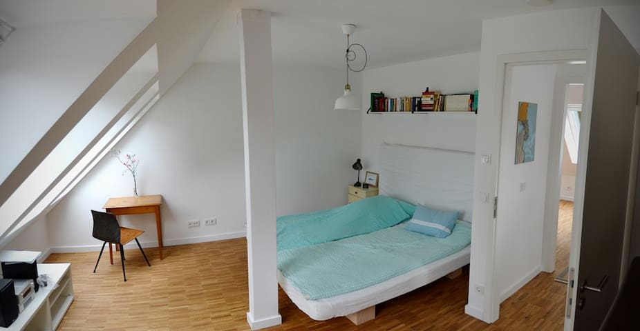 Sonniges, neues Apartment mit Parkblick - Hambourg - Appartement
