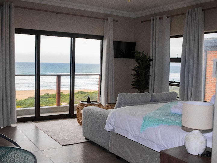 Beach front stay, White Sands