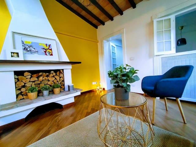 Living, Fireplace 1 - Soggiorno, Camino 1