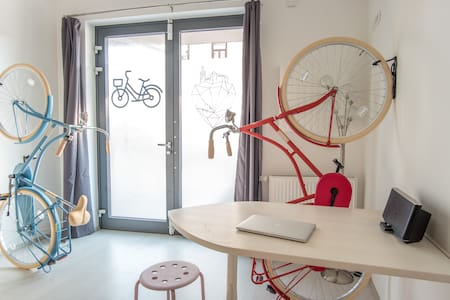 Bicycle apartment with free bikes - Ljubljana