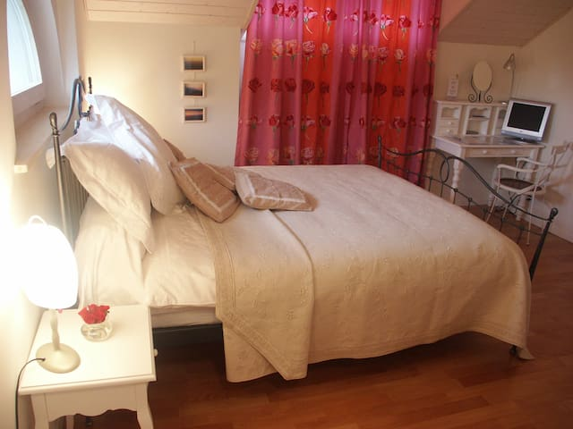 Cosy room in charming 19th century villa - Nyon - วิลล่า