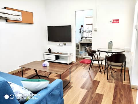 【 Mountain Ancient Springs # 101 】 One Room One Hall Xiaomi Smart Home 40M ² (Strictly disinfected/Check-in with peace of mind/Gongbei High Speed Railway Station/Gate Bus Direct to Changlong)