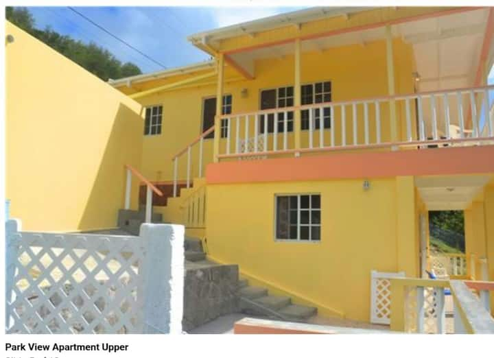 Cozy stay at ParkView Apts Bequia