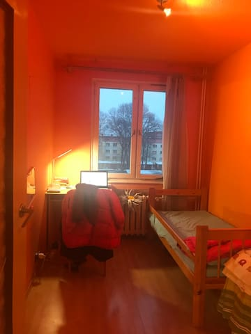 Room close to the river of Frankfurt oder