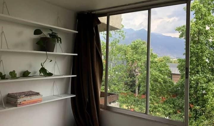 Lugar de descanso, tranquilo en Las Condes