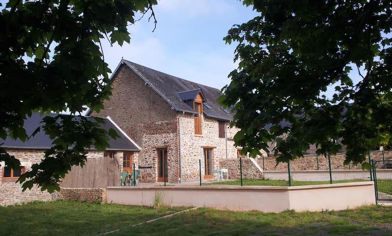 La bergerie : maison traditionnelle Normande - Sainte-Marguerite-d'Elle