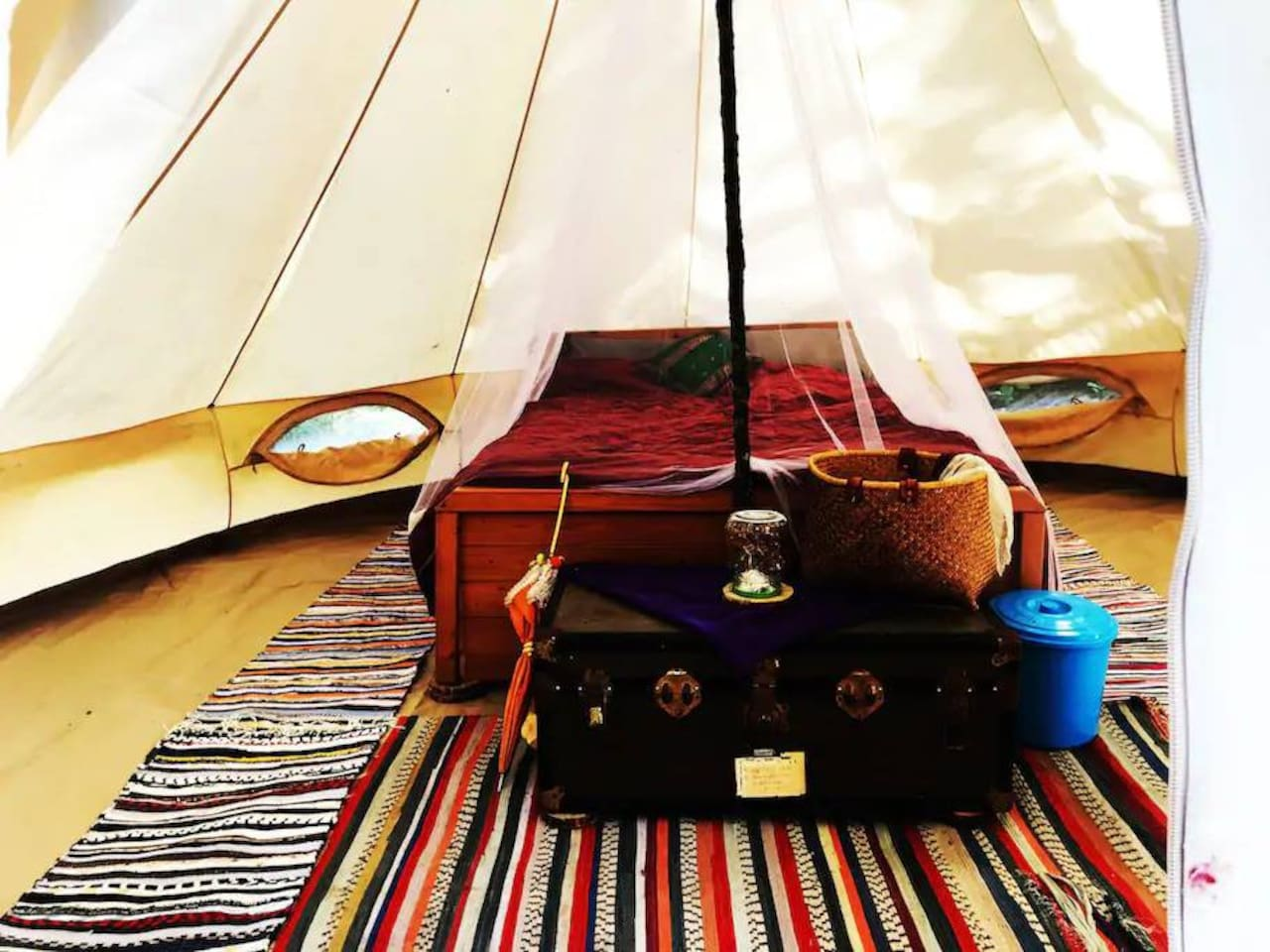 Our tent for you to call home