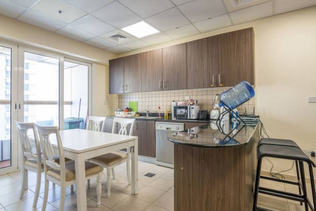 Apartment's Shared Kitchen