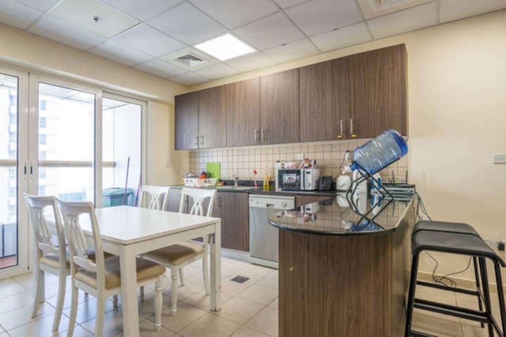 Apartment's Shared Kitchen