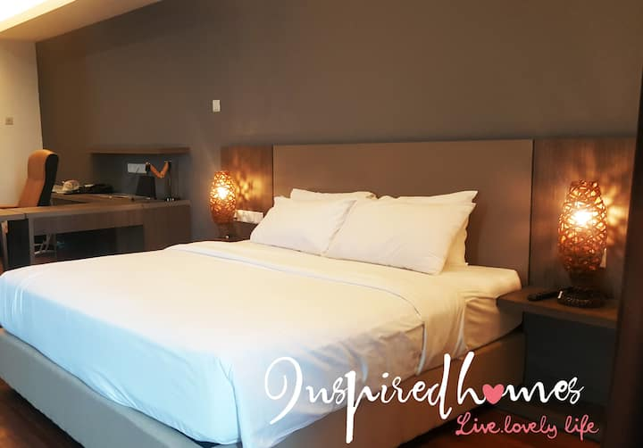 Deluxe King Suite#2,Shah Alam Business Suite, 2pax