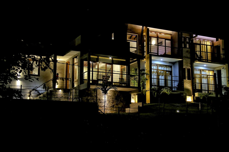 Night view of Windgate Kandy