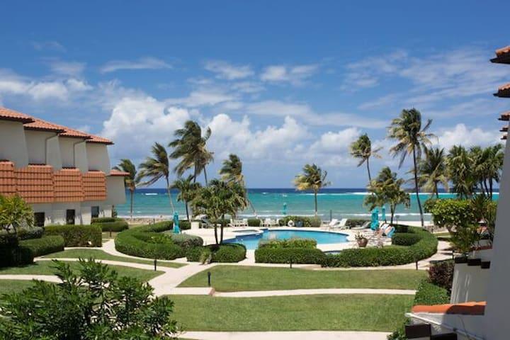 Cayman Ocean View Villa - 1 Bdrm/1 bath sleeps 3.