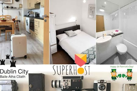 Modern and cozy. Direct buses to centre 20 min - Santry - Apartamento