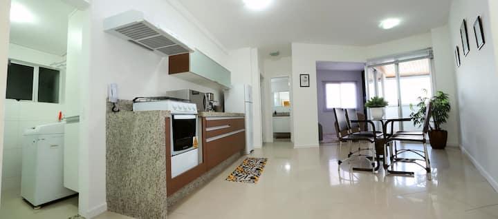 Apartamento Decorado no Coração de Maringá