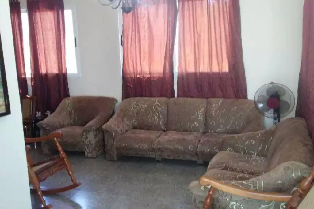 La sala del apartamento