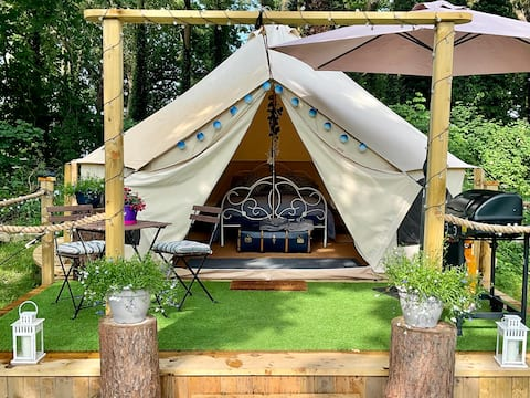 Exclusive luxury glamping in beautiful Wicklow
