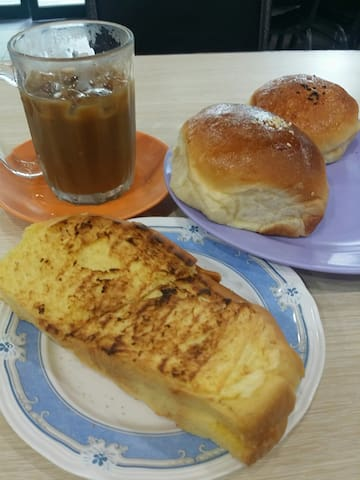 BSB Famous Afternoon Teabreak at Chop Jing Chew Roti Kuning etc