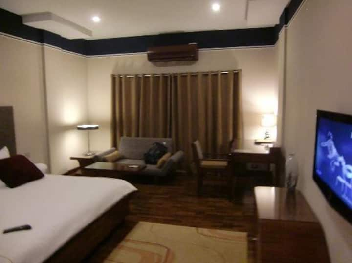 Furnished Room Three Bed Rooms Attach Bad