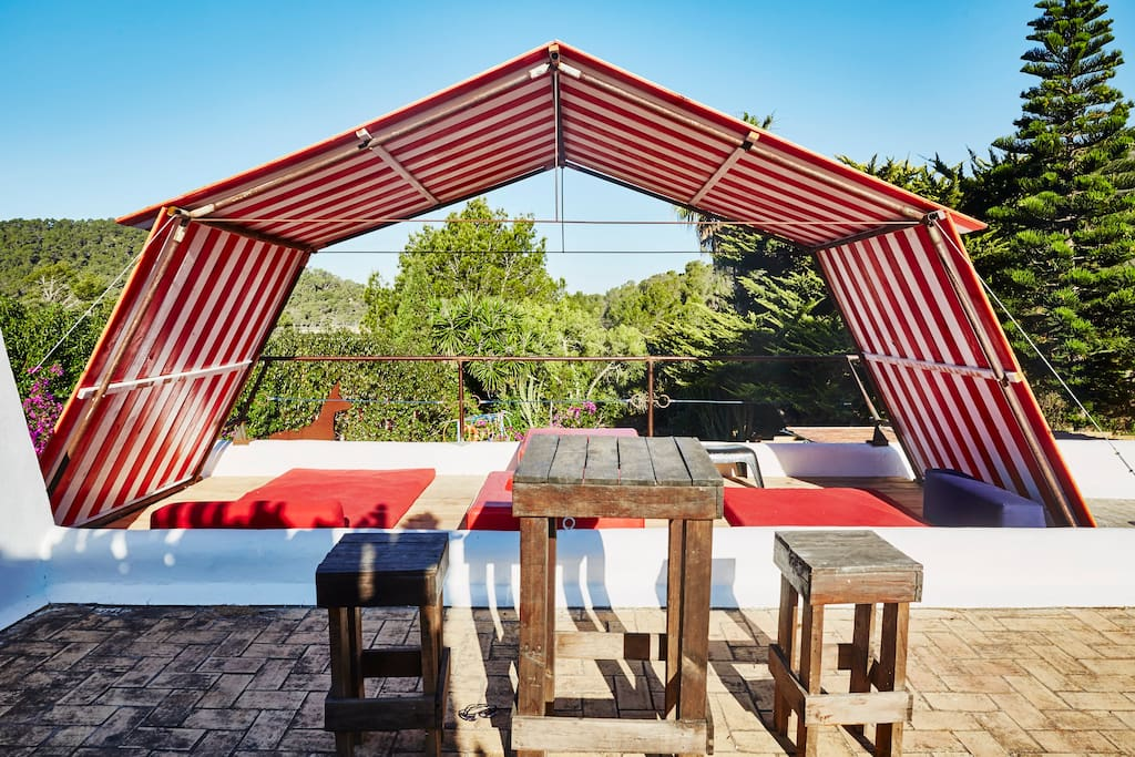 Toit terrasse chill-out