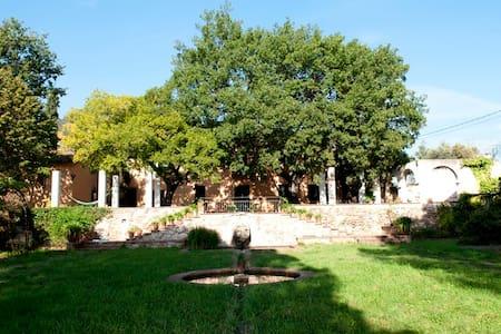 Romantica masia  naturaleza jardin bbq y piscina - La Garriga