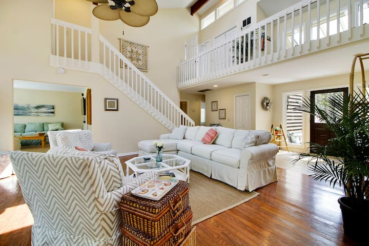 Experience Coastal living at its finest in this light filled living area