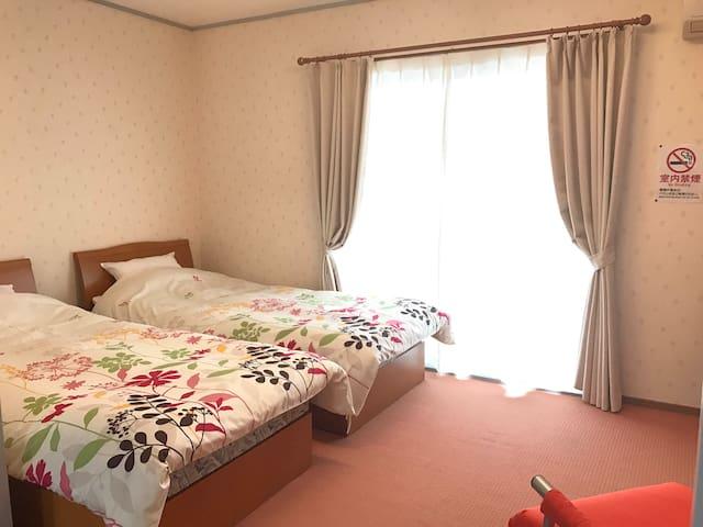 Close to KOJ! Sit back and relax at the twin room! - Hayato-cho, Kirishima-shi - Apartamento