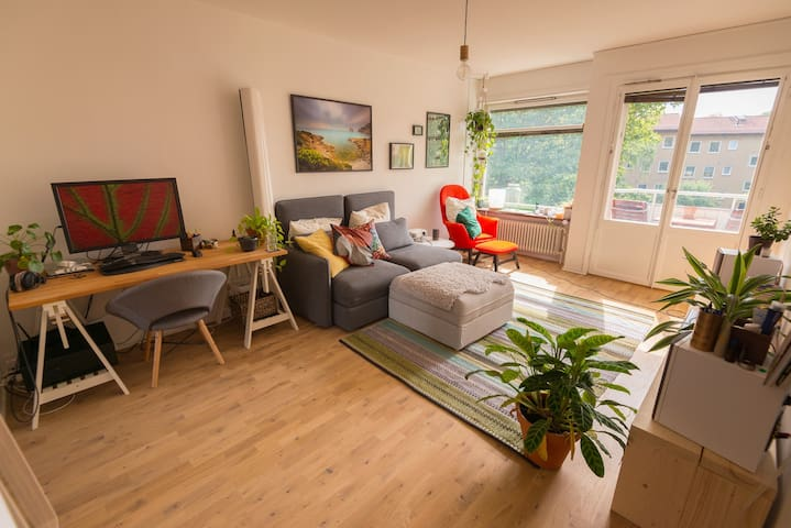 Cozy apartment in quiet area near city and nature