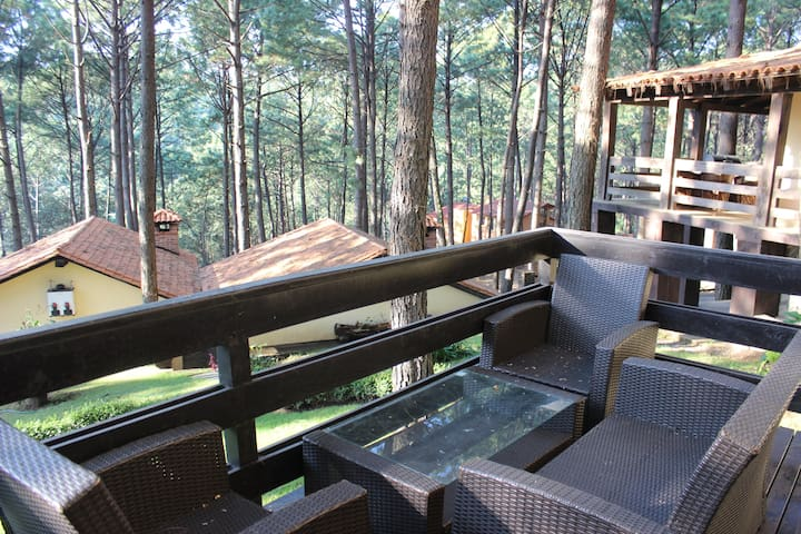 Beatiful forst cabin with private Jacuzzi - Mazamitla - Natur-Lodge
