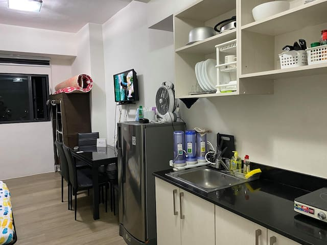 Fully-furnished Studio in front of Ateneo