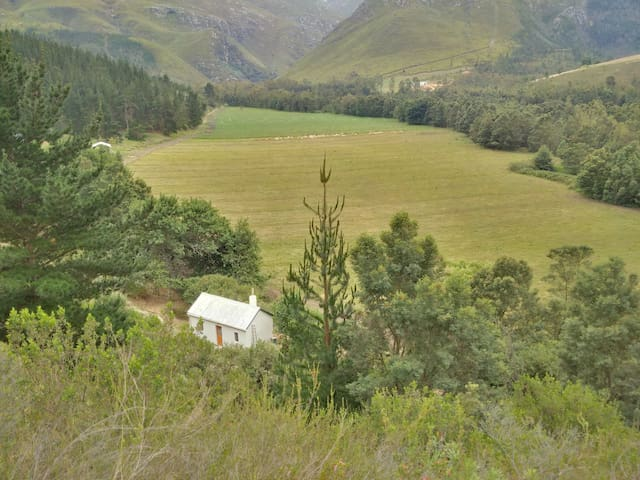 Jansehuis mountain valley cottage - Swellendam - Casa de campo