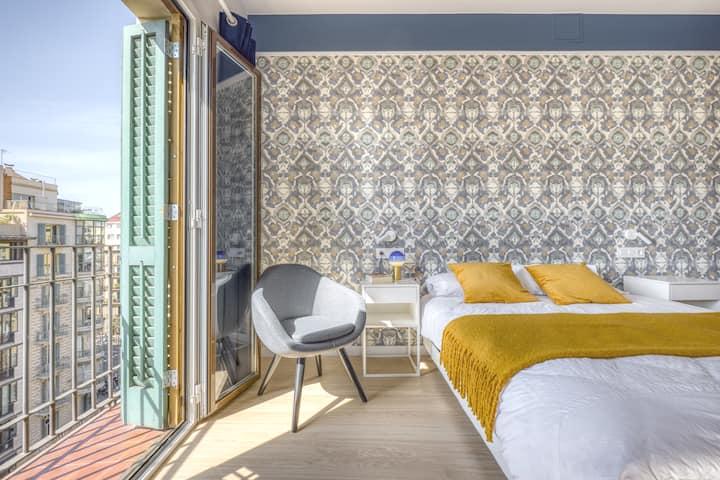 Best Location apartment Rambla Catalunya