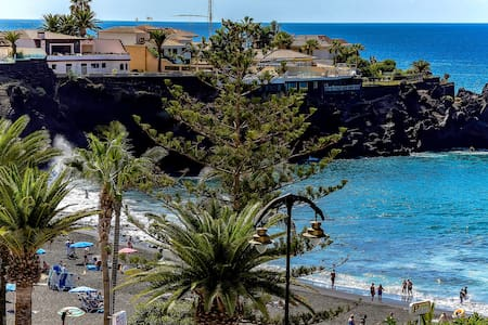 SEA-VIEW APARTMENT LA ARENA JUST ON THE BEACH - Santiago del Teide