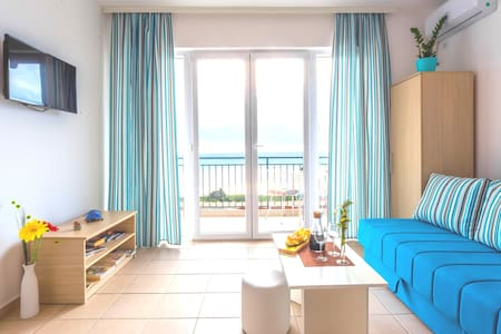 Apartment with beautiful sea view,50m2,one bedroom
