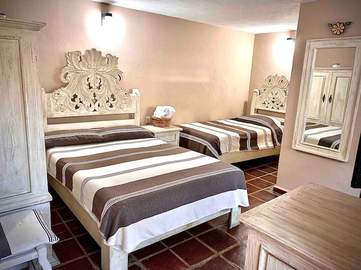 Habitación 3p en hotel Rincon soñado valle centro
