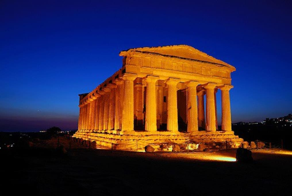 Temples in Agrigento