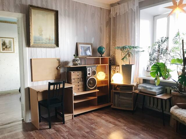 Cozy appartment near pond and park